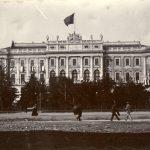 Hektor Antoniazzo , Palazzo del Lloyd e giardino, giugno 1901 F12633
