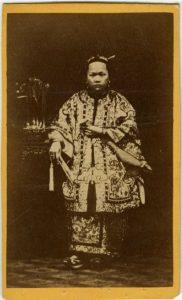 ANONIMO-PRINCIPESSA CINESE, [Cina, 1865]
