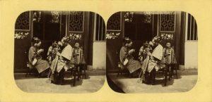 ANONIMO-GRUPPO DI DONNE DI CANTON AL LAVORO, [Canton, 1867-1872]