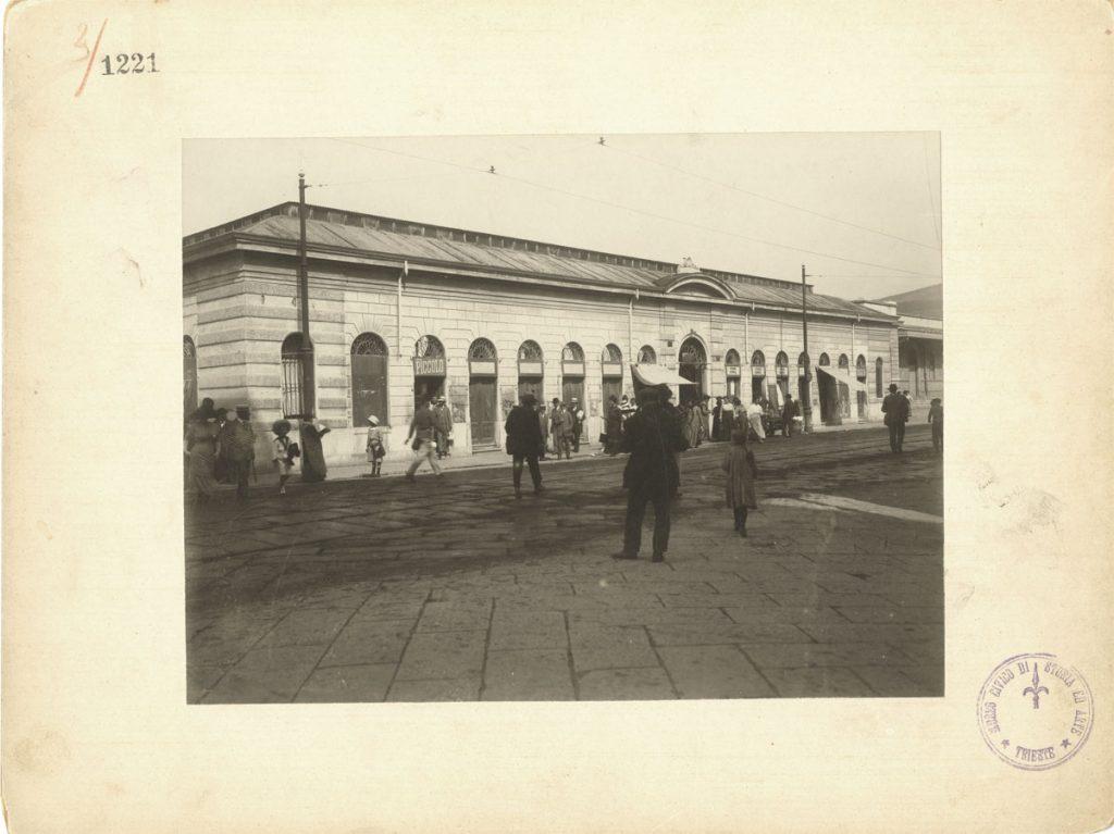 34. Pietro Opiglia, Pescheria vecchia, novembre 1912 F1220, 1221, 1222