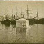 47. Carlo Wulz, Bagno galleggiante : Sacchetta [1910] F10546