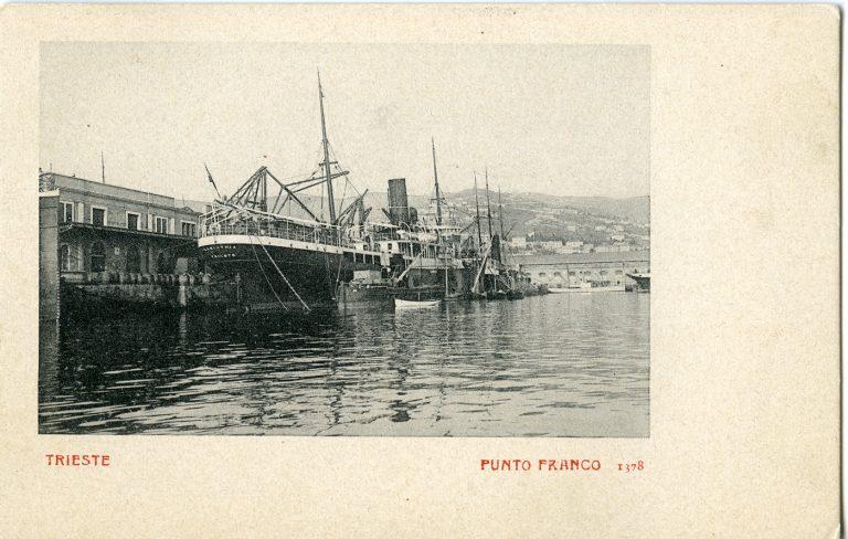 Punto Franco : Trieste Trieste, [post 1900/05/14] F26018