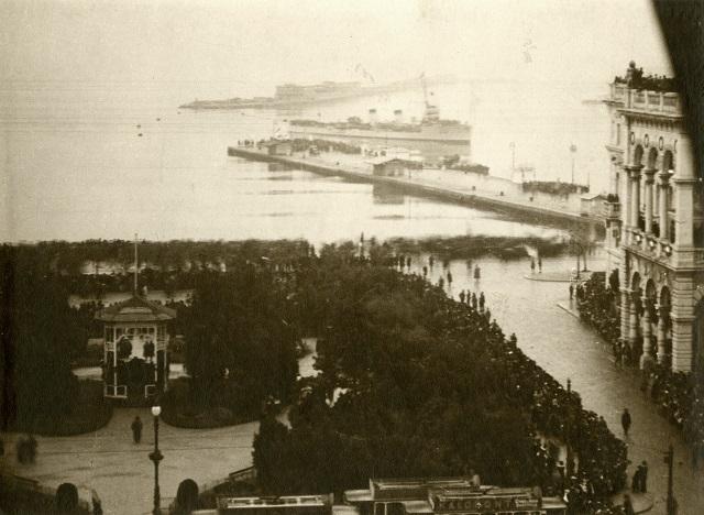 A. Polacco, Arrivo delle navi italiane, 3.11.1918, F2959