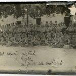 Gruppo di arruolati volontari irredenti a Mestre nel periodo della neutralità