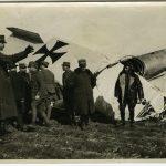 Aeroplano austriaco abbattuto presso Udine