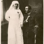 Guido Zanetti e sua madre Maria crocerossina / CMSA_F_017538