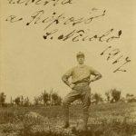 Guido Salvi in piena libertà a riposo nel 1917