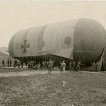 Pallone aerostatico austro-ungarico della Ballon Kompanie 15