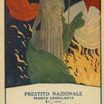 Cartolina di propaganda italiana. Illustrazione di Aleardo Terzi