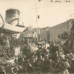 Prima visita del Re Vittorio Emanuele III a Trieste il 9 novembre 1918