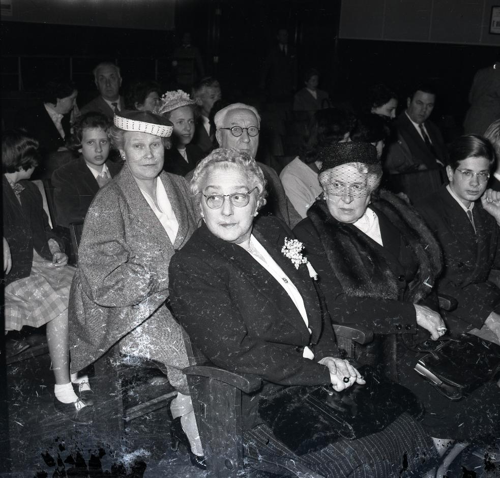 Giornalfoto, Festival dei Ragazzi: proiezione Heidi, 1953, GF NP 2079_143050