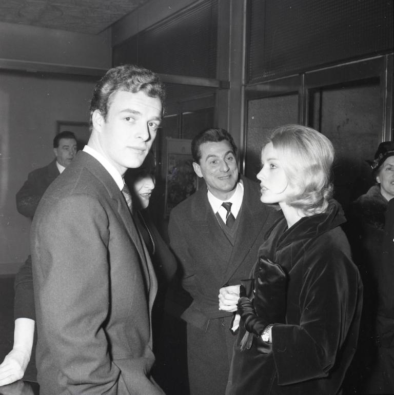 Giornalfoto, Gianni Garko con Federica Ranchi, 1960, GF NP 15482_007