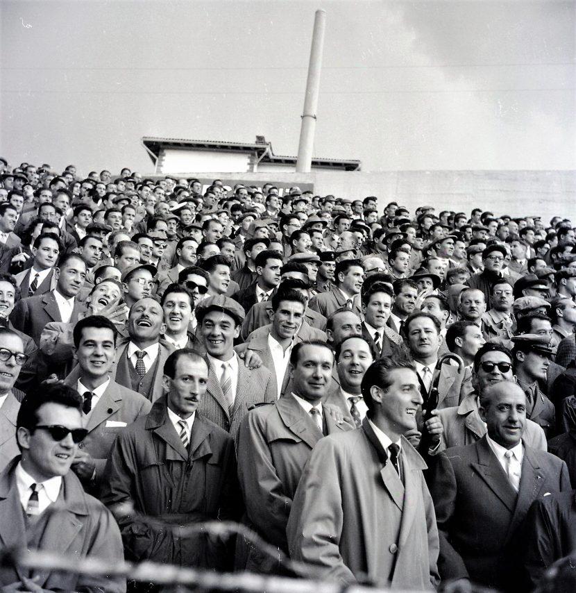 Adriano de Rota, Facce da stadio, 1956, RO6505_035