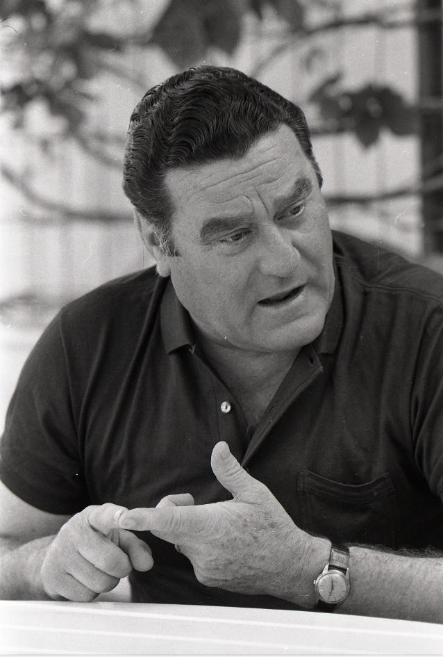 Ugo Borsatti, Nereo Rocco, 22.05.1973, UB4452_11
