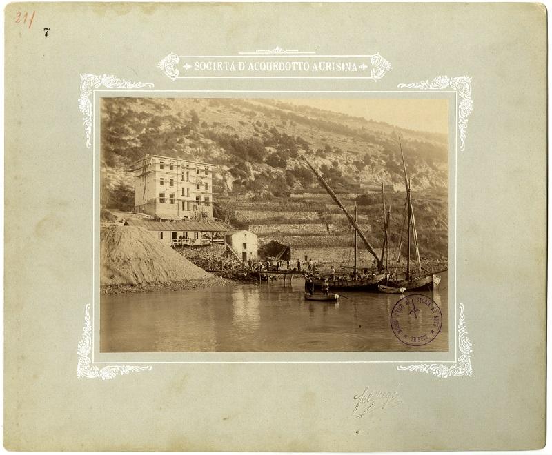 Lavori per l'acquedotto di Aurisina, 1902 F000007
