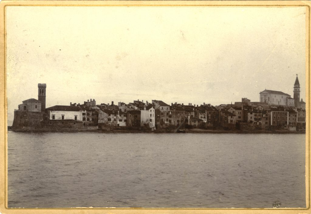 Basilio Circovich, Pirano: panorama, [ante 1893], F1371