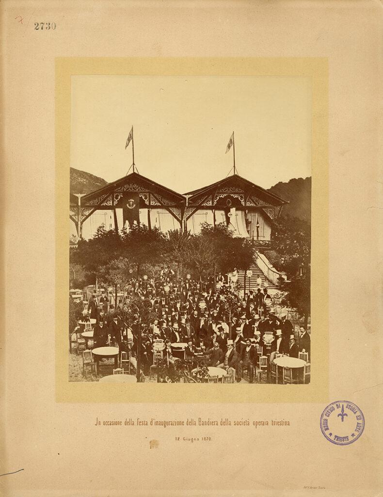 Anna Scrinzi, In occasione della festa d'inaugurazione della Bandiera della Società operaia triestina, 12.06.1870, F2730
