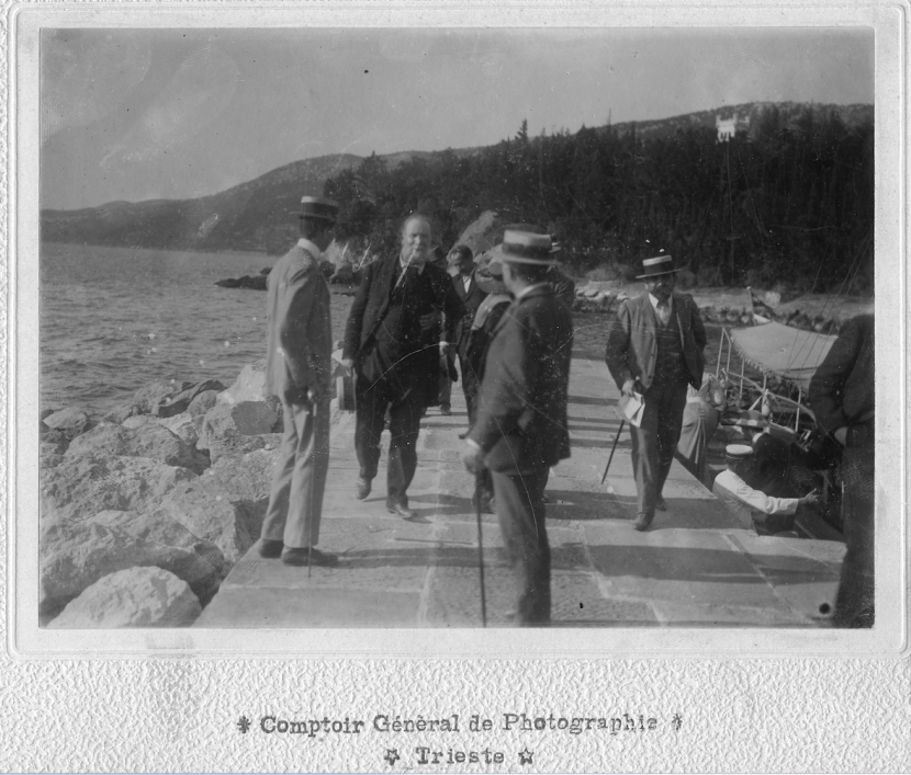 Comptoir Général de Photographie, Menotti Garibaldi a Miramare, 6.09.1899, F23042