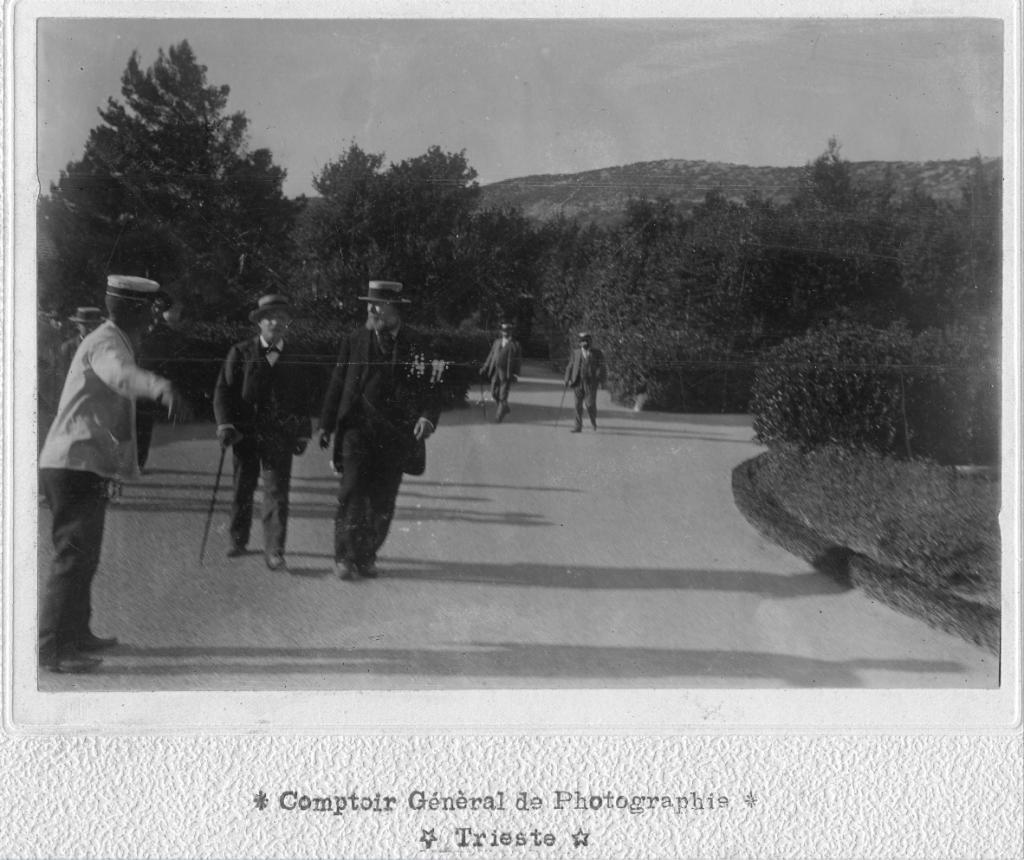 Comptoir Général de Photographie, Menotti Garibaldi a Miramare, 6.09.1899, F23043