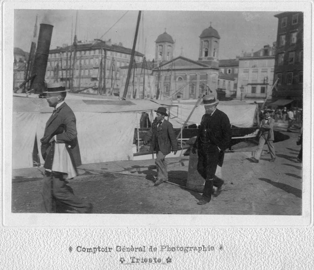 Comptoir Général de Photographie, Menotti Garibaldi al Molo San Carlo, 6.09.1899, F23044