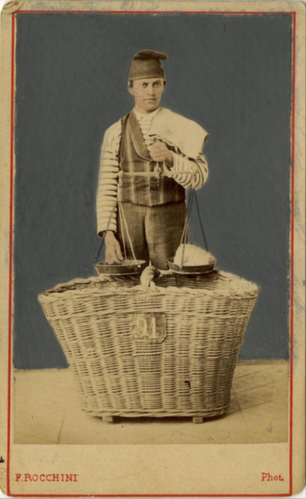 Francisco Rocchini, Il panettiere, 1880,F25922