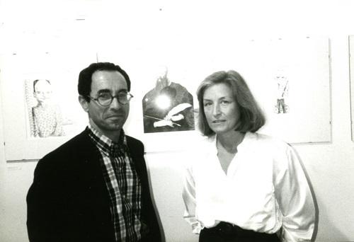 Nadia Bassanese with Tullio Pericoli
