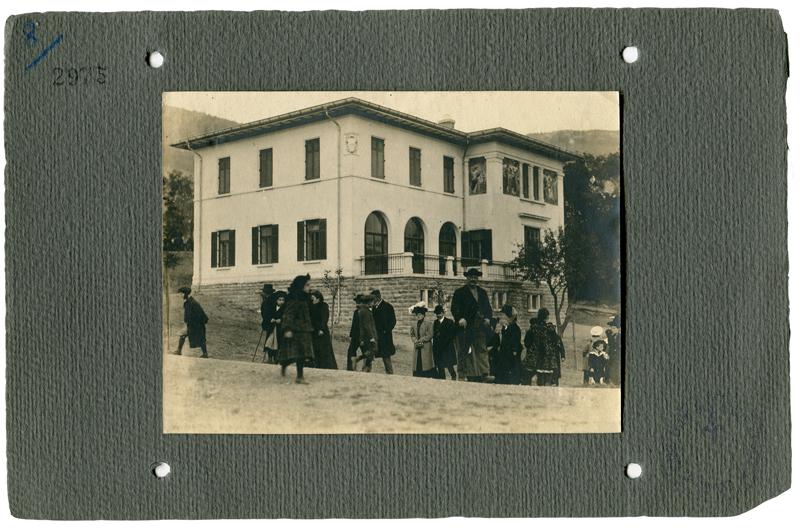 Biagio Padovan L'inaugurazione del frenocomio, 1.11.1908, F2975