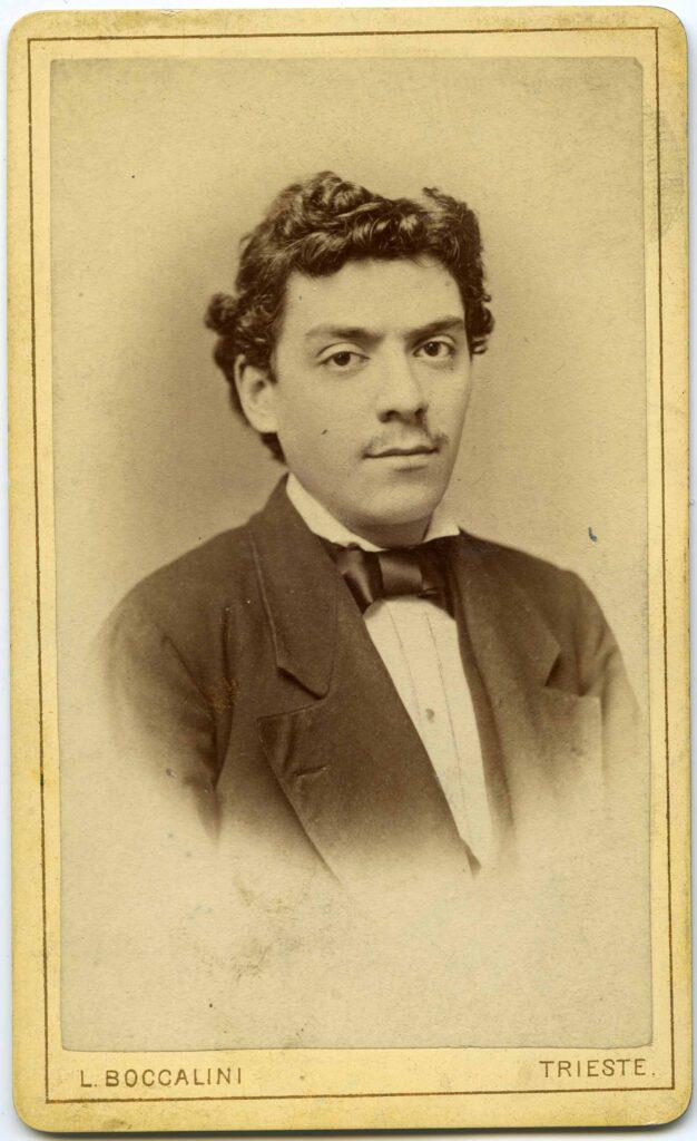Luigi Boccalini Ritratto d'uomo, 3.06.1883, F35300